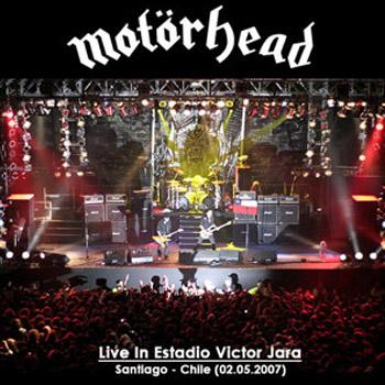 Portada de la grabación del show de Motorhead en Chile