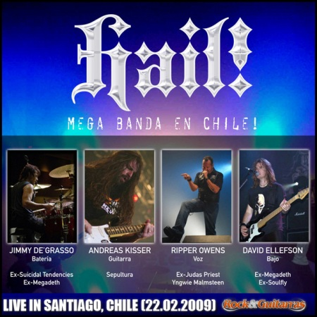 HAIL! - Live in Santiago, Chile - Rock & Guitarras (22.01.09)
