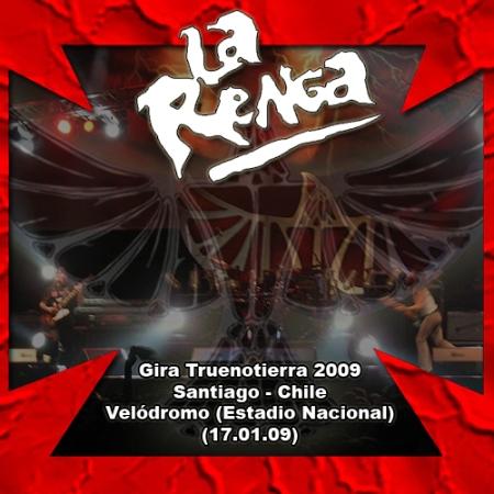 LA RENGA - En Vivo En Santiago, Chile - Velódromo del Estadio Nacional (17.01.09)