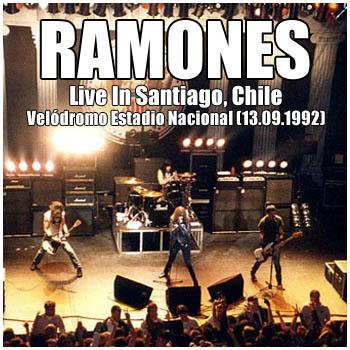 RAMONES - Live In Santiago, Chile - Velódromo Estadio Nacional (13.09.92)