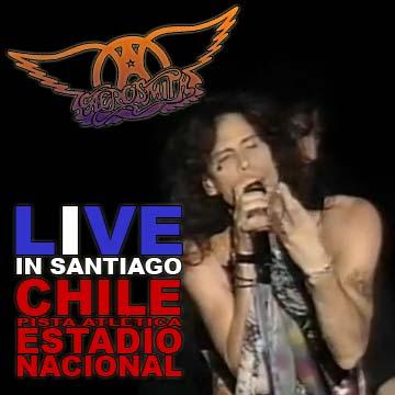 AEROSMITH - Live In Santiago, Chile (Pista Atlética, Estadio Nacional - 13.11.94)