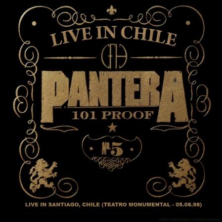 PANTERA - Live In Santiago, Chile (Teatro Monumental - 05.06.98)