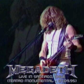 Megadeth Live in Chile 1995 [Teatro Monumental] :D Front1