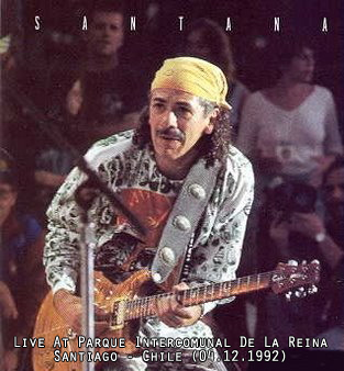 SANTANA - Live At Parque Intercomunal De La Reina, Santiago - Chile (04.12.1992)