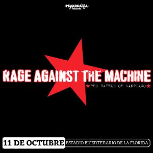 2010 - RAGE AGAINST THE MACHINE - The Battle Of Santiago - Live In Santiago, Chile (11.10.10)