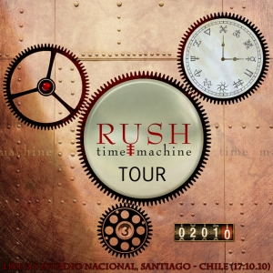 RUSH - Time Machine Tour - Live At Estadio Nacional, Santiago - Chile (17.10.10)