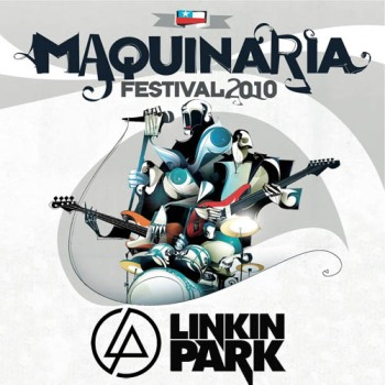 Linkin Park [Live In Chile, Maquinaria Festival 2010] Front1