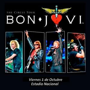 BON JOVI - The Circle Tour - Live in Estadio Nacional - Santiago, Chile (01.10.10)