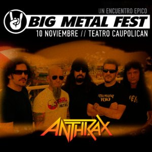 ANTHRAX - Big Metal Fest - Live At Teatro Caupolicán - Santiago, Chile (10.11.10)