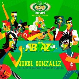 JORGE GONZÁLEZ - Cristal En Vivo El Abrazo - En vivo Elipse del Parque O'higgins (11.12.10)