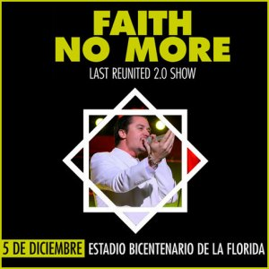 FAITH NO MORE - Last Reunited 2.0 Show - Live At Estadio Bicentenario La Florida - Santiago, Chile (05.12.10)