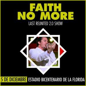 FAITH NO MORE - Last Reunited 2.0 Show - Live At Estadio Bicentenario La Florida - Santiago, Chile (05.12.10)
