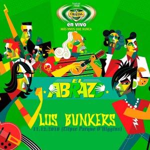 LOS BUNKERS - Cristal En Vivo El Abrazo - En vivo Elipse del Parque O'higgins (11.12.10)