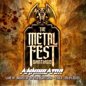 ANNIHILATOR - Metal Fest 2012, Live At Movistar Arena, Santiago - Chile (28.04.2012)