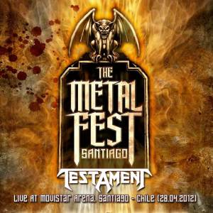 TESTAMENT - Metal Fest 2012, Live At Movistar Arena, Santiago - Chile (28.04.2012)