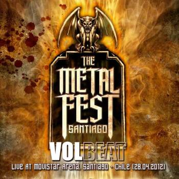 VOLBEAT - Metal Fest 2012, Live At Movistar Arena, Santiago - Chile (28.04.2012)