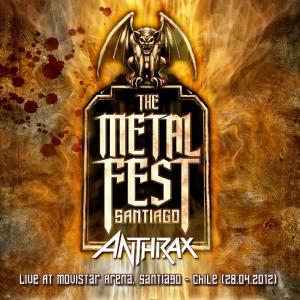 ANTHRAX - Metal Fest 2012, Live At Movistar Arena, Santiago - Chile (28.04.2012)
