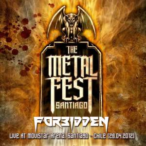 FORBIDDEN - Metal Fest 2012, Live At Movistar Arena, Santiago - Chile (29.04.2012)